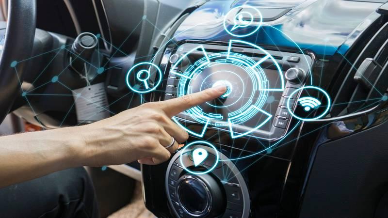 Контроль автомобиля