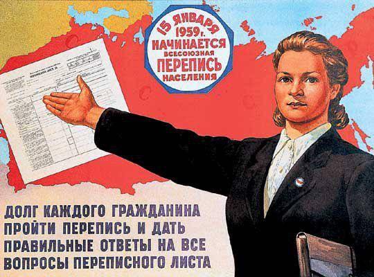 Советский плакат. 1959