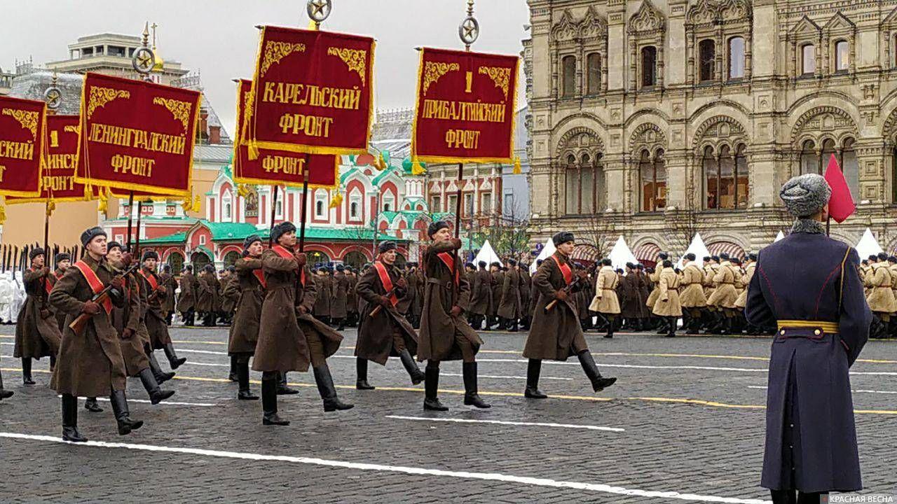 Карельский фронт, Прибалтийский фронт, Ленинградский фронт...
