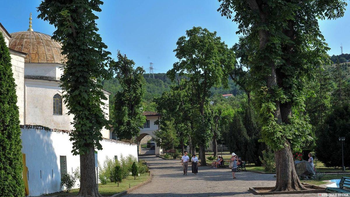 Ханский дворец в Бахчисарае. Крым