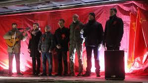 Барнаул. Митинг СВ-Алтайский край к 100-летию Революции