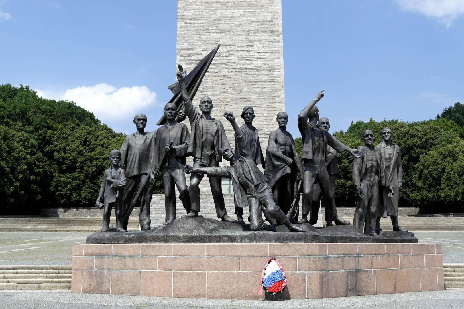 Памятник в Бухенвальде, посвящённый борцам с фашизмом