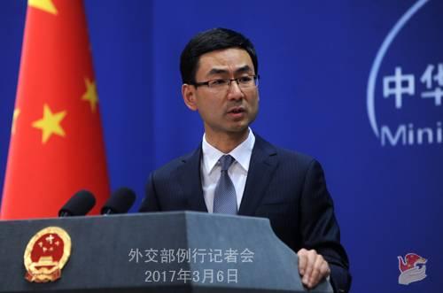 Официальный представитель МИД КНР Гэн Шуан