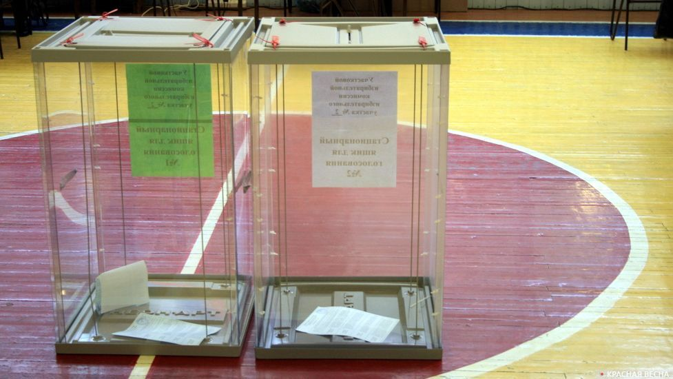 Стационарный ящик для голосов