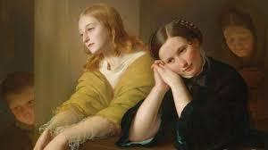 Генрих Гольпейн. Благоволение.1857. Фрагмент