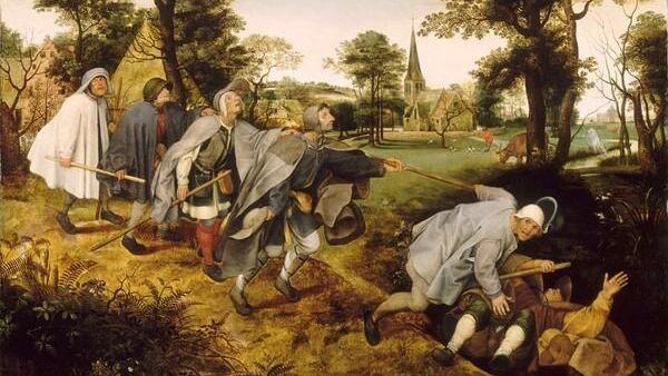 Притча о слепых. 1568
