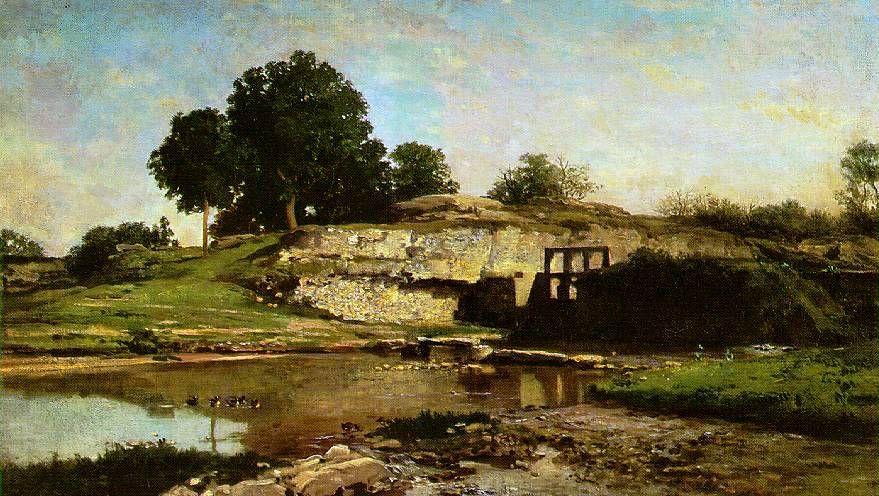Шарль-Франсуа Добиньи. Потоп. XIX век