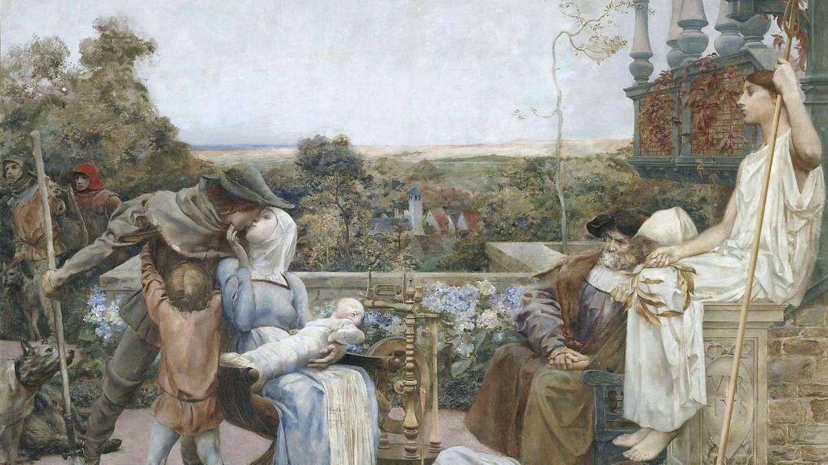 Люк-Оливье Мерсон. Семья. 1901
