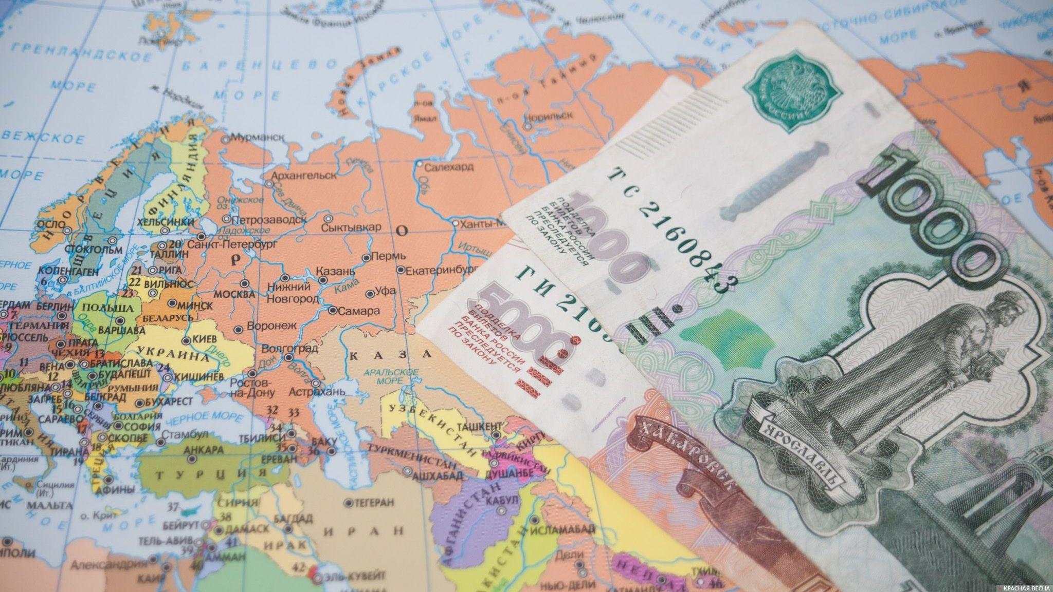 Деньги. Карта