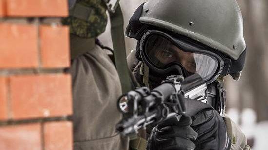 Военнослужащий подразделения антитеррора