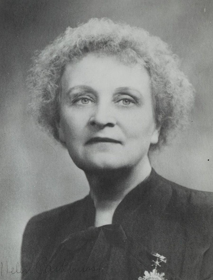 Елена Паркхерст. 1950-е