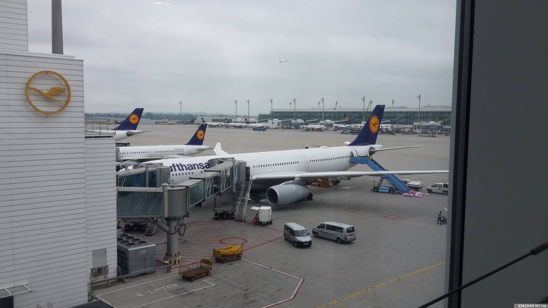 Аэропорт. Франкфурт