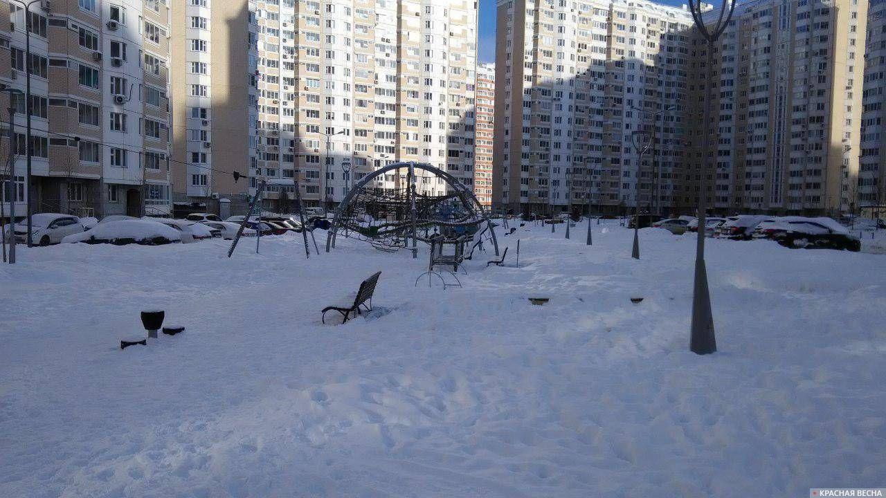 Площадка. Новая Москва