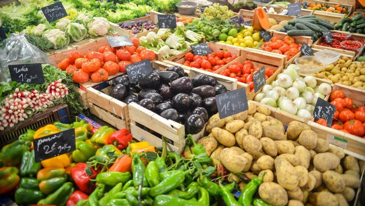 Распродажа урожая