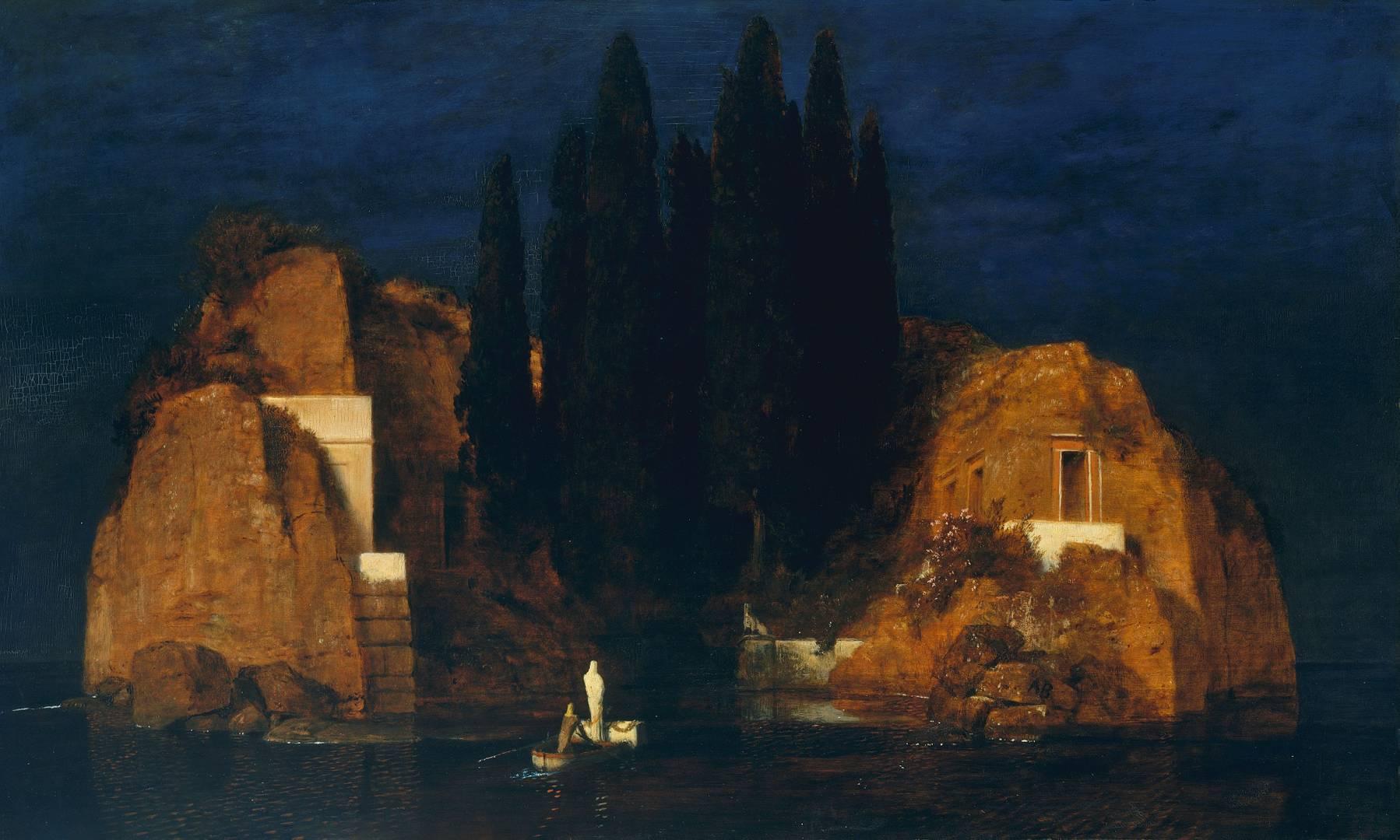 Арнольд Бёклин. Остров мёртвых. 1880