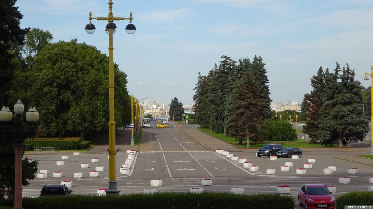 Площадь перед МГУ