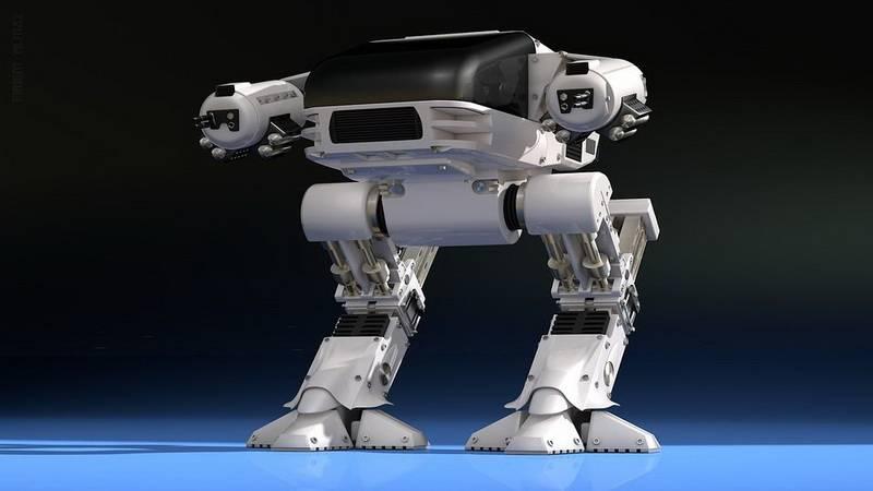 боевой робот будущего
