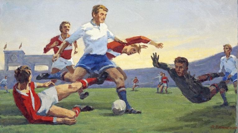 Павел Рубинский. Футбол. 1979