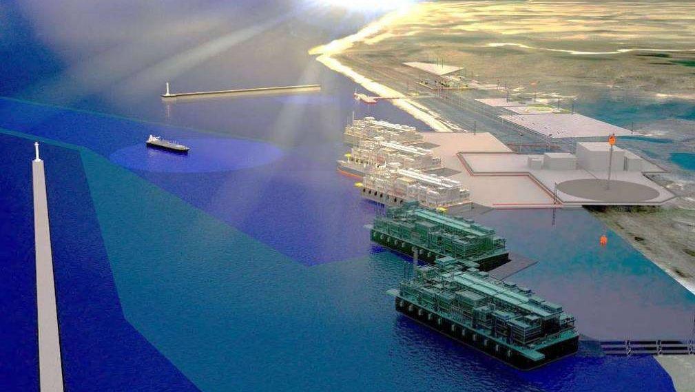 Проект СПГ-терминала