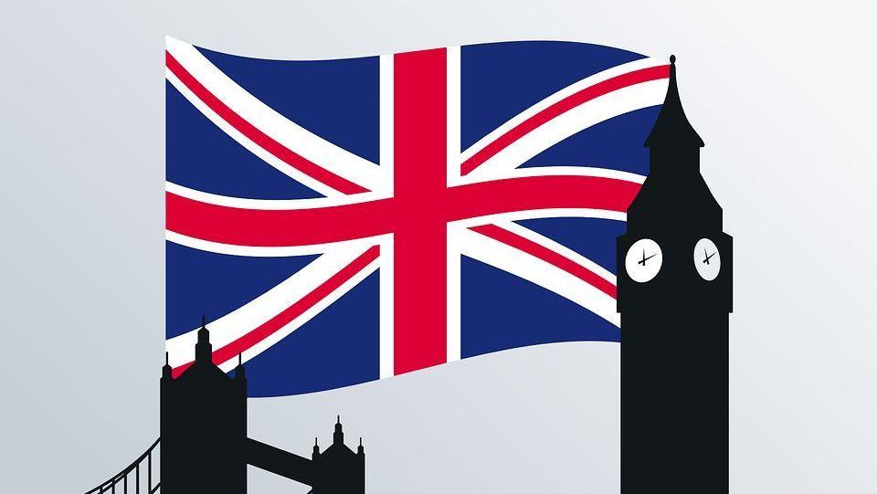 Великобритания. Флаг. Биг-Бен
