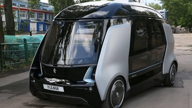 Автономный беспилотный автобус особо малого класса «Шатл»