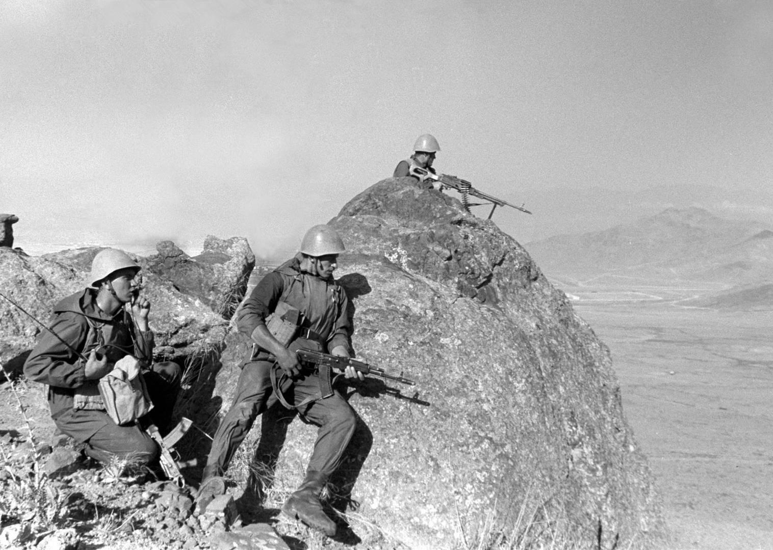 Советские солдаты в Афганистане. 1988