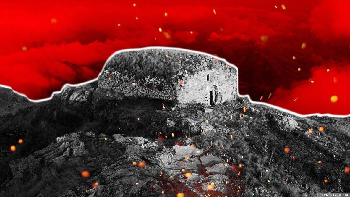 Монастырь Катарованк. Нагорный Карабах