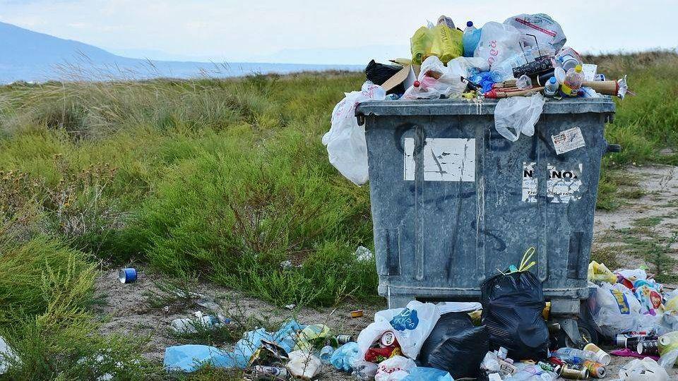 мусор, контейнер для отходов, отходы