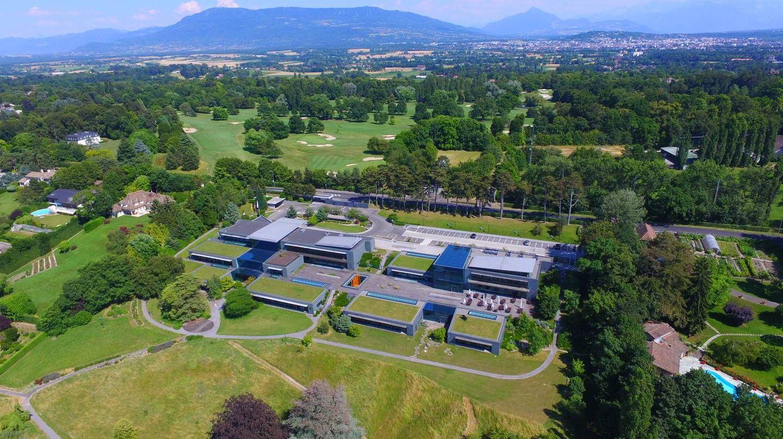 Штаб-квартира Всемирного экономического форума в Колоньи, кантон Женева