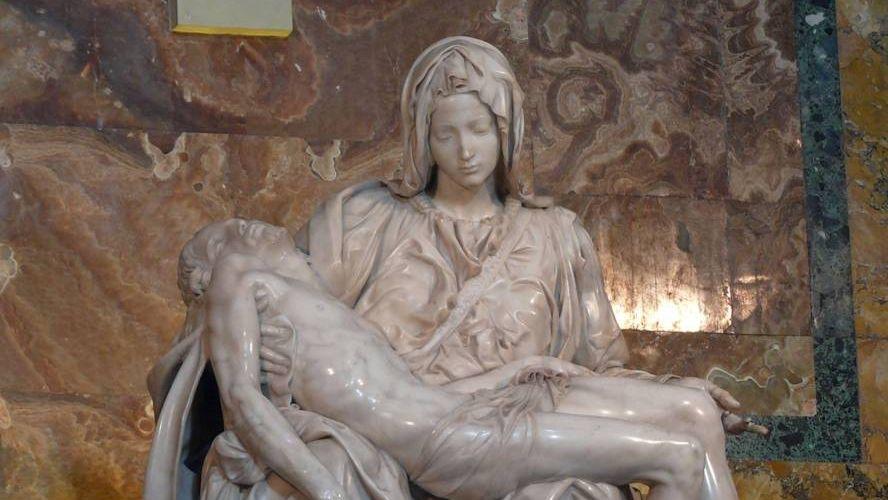 Микеланджело Буонарроти. Ватиканская Пьета