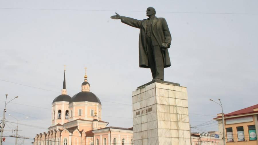 Памятник В.И. Ленину в Томске