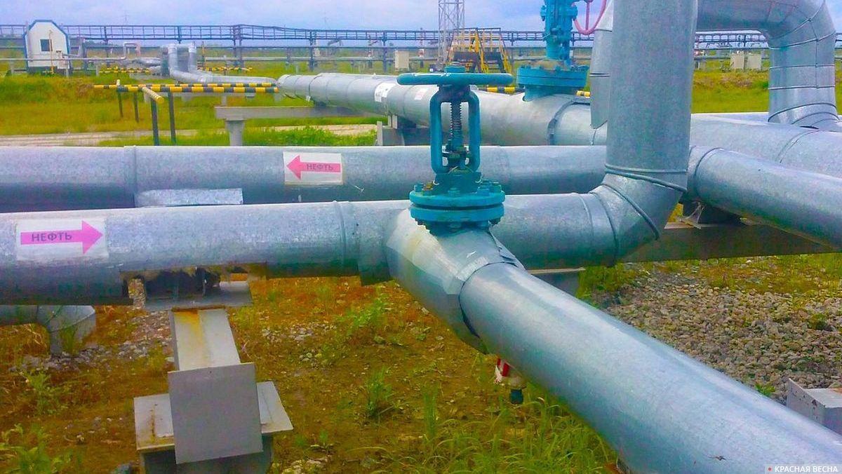 Нефтяные потоки