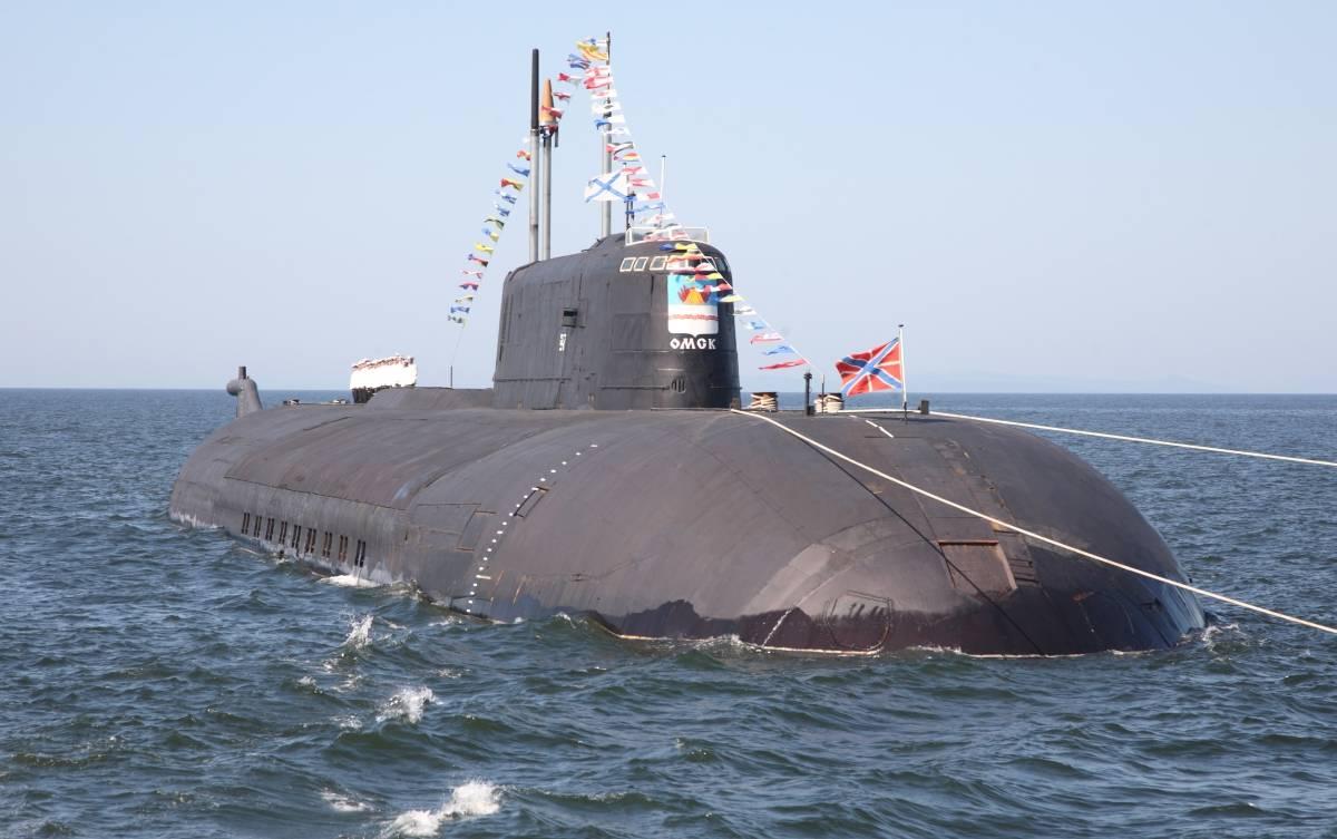 Атомный подводный крейсер «Омск»