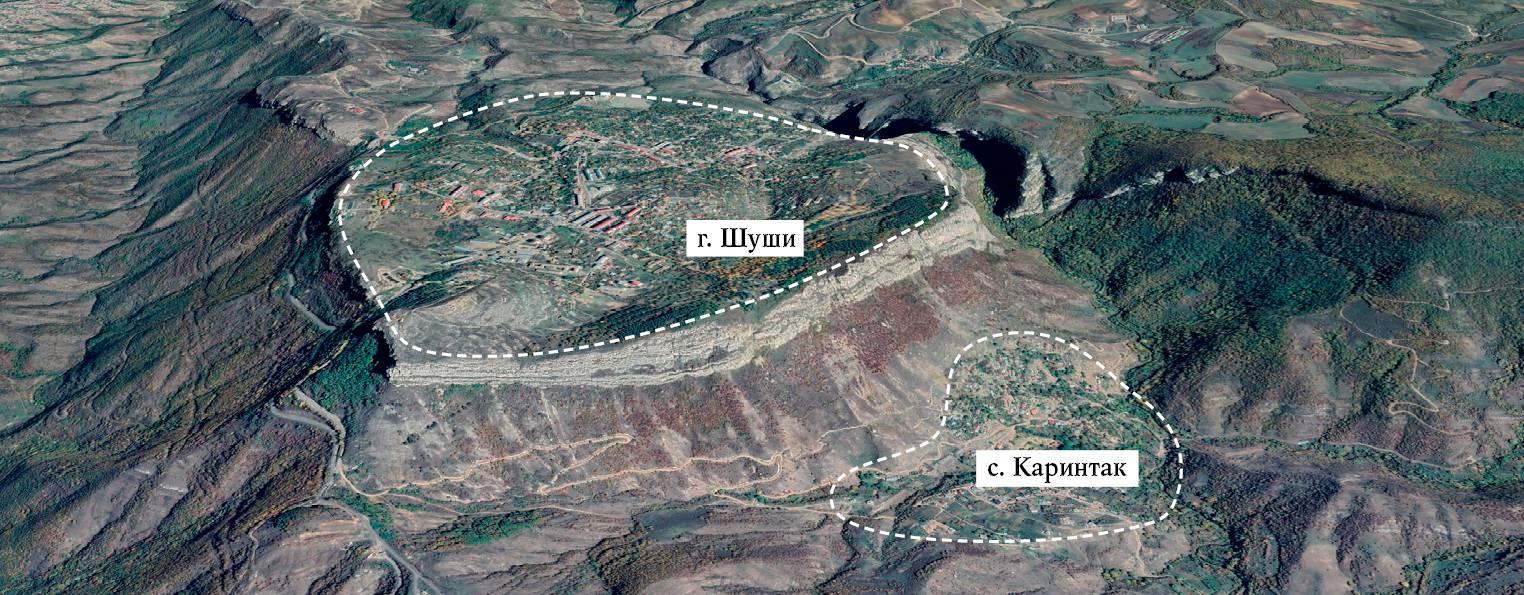 Мап-снимок со спутника