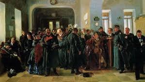 Владимир Маковский. Крах банка. 1880 г.