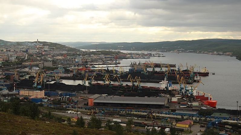 Мурманск, порт