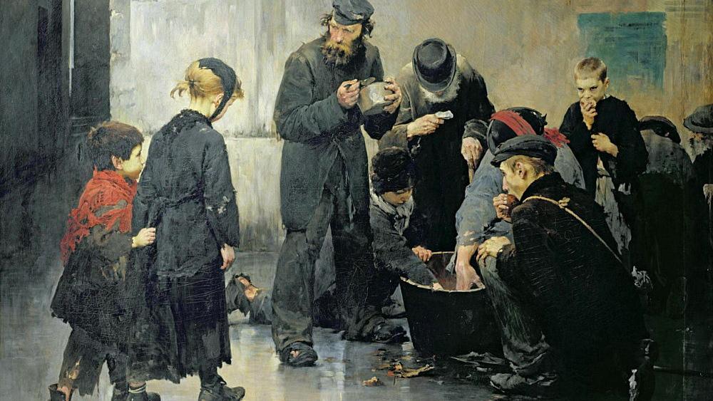Генри Жюль Жан Жоффруа. Голодание. 1886