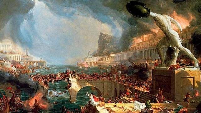 Томас Коул. Путь империи. Крушение. 1836