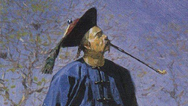 Василий Верещагин. Китаец (фрагмент). 1873
