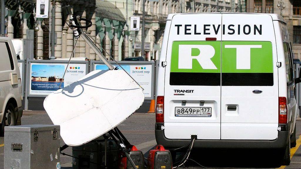 Передвижная телестанция RT