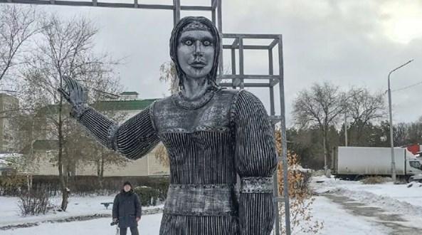 Арт-объект Аленка в Нововоронеже