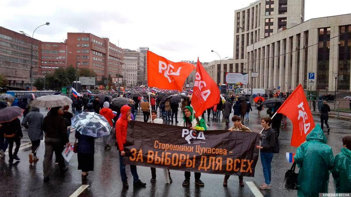 Флаги РСД (Российского социалистического движения)