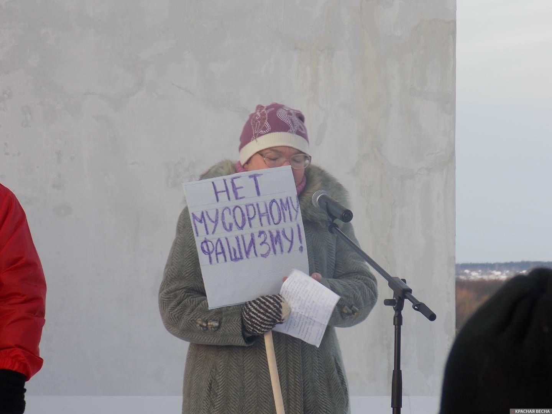 Митинг в г. Котлас 2 декабря 2018 года