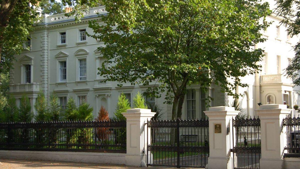 Посольство РФ в Лондоне