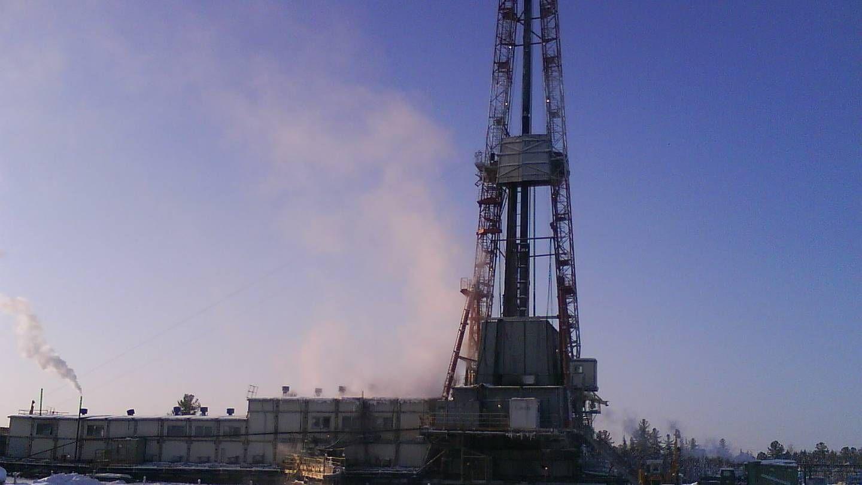 Буровая, Нефть, Сибирь