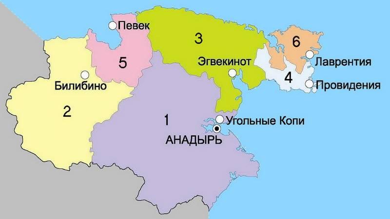Карта.Чукотка