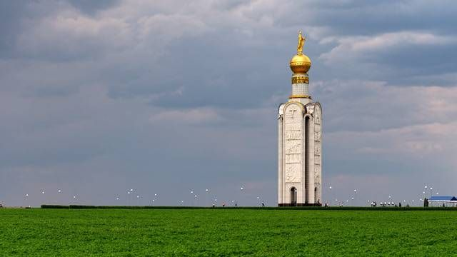 Памятник Победы под Прохоровкой