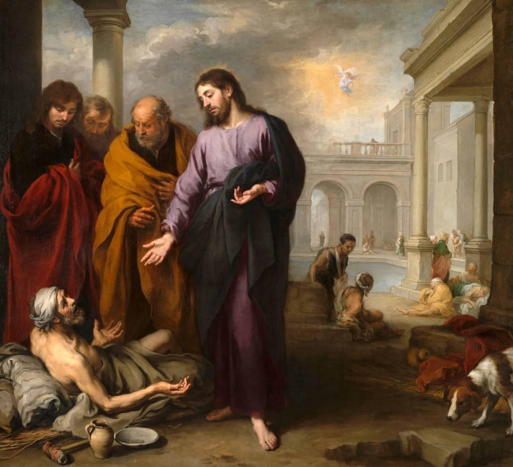 Бартоломе Эстебан Мурильо. Христос исцеляет расслабленного у купальни
