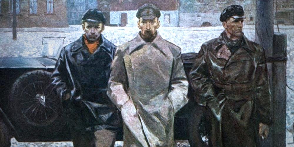 Алексей Калинников. Чекисты. 1960-е