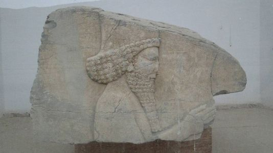 Фрагмент барельефа Персеполя. Иран.